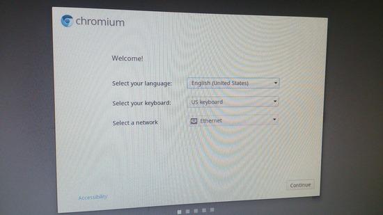 Chrome OSとやらをPCに入れてみる