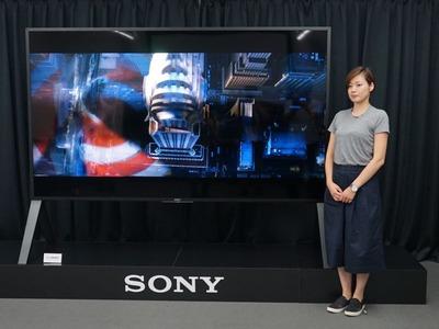 100V型で700万円! ソニー「ブラビア」で超高性能4Kテレビが登場