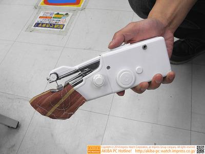 USBミシンがサンコーから登場、モバイルバッテリーでも動作