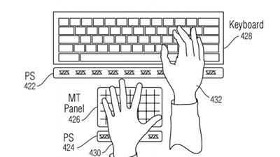 アップルが開発する特許技術!空気上のバーチャルボタン