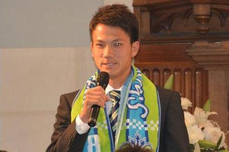 宮市剛が湘南加入内定会見「いずれは兄貴と同じピッチに立ちたい」