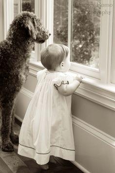 犬と赤ちゃん11