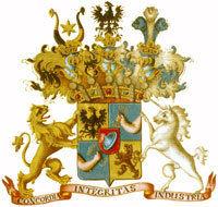 石油王者ロックフェラーの紋章