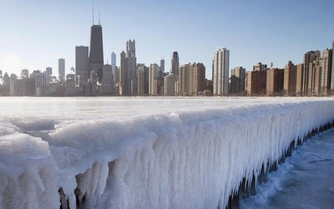 アメリカ経済への寒波の影響が気になる
