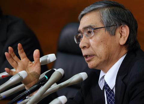日本銀行の黒田総裁が追加緩和に踏み切る