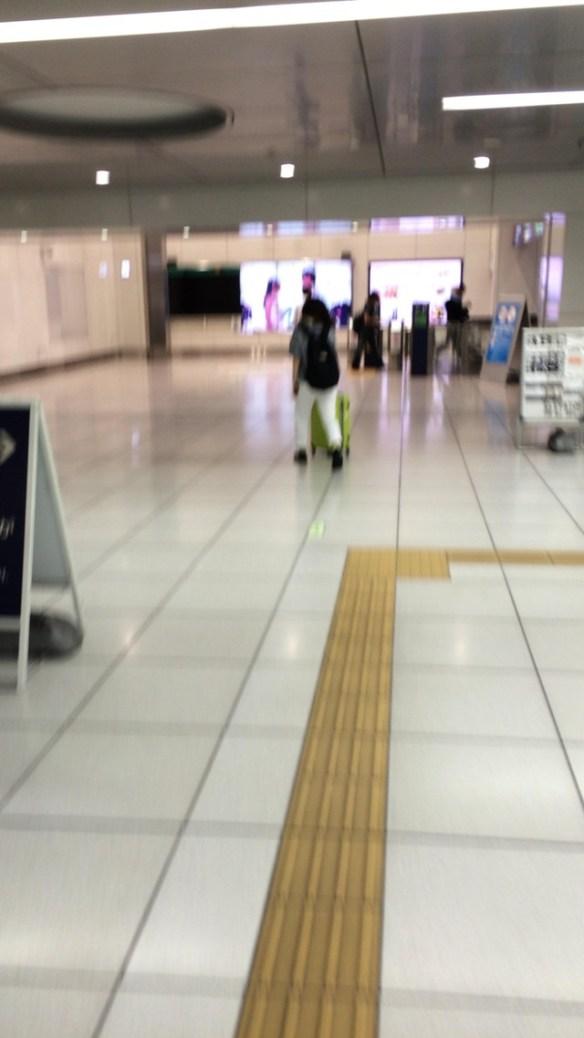 羽田空港で一晩過ごすよー