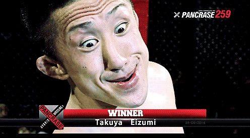 日本人格闘家の勝ち誇った顔が「身の毛がよだつ」と海外で話題 一部でフリー素材化