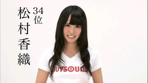 松村香織ちゃんの可愛い画像下さい