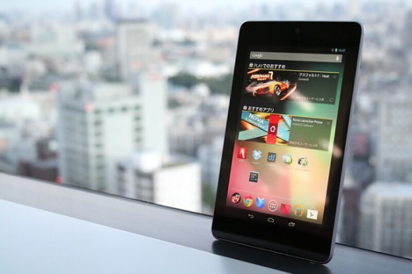 Android4.2にアップデート可能!ASUS製お手頃価格の7インチGoogleタブレット「Nexus 7」 -ASUS 2011~2012モデル-【最新タブレット指南】