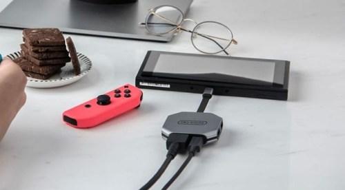 ニンテンドースイッチ ドッグ テレビ接続 デバイス 小型に関連した画像-01