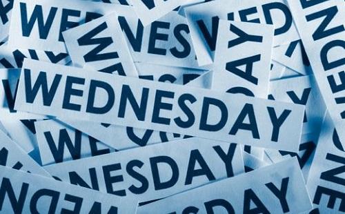 Wednesday(ウェンズデイ) ←は???