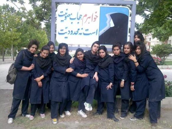 【ぼっき注意】中東の女子高生のレベルがヤバイwwwwwwwwwwwww(画像あり)