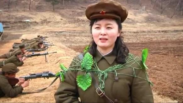 北朝鮮の女性軍人クソワロタwwwwwwwwwwwwww