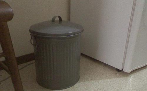 今日の朝カーチャンに贈ったプレゼントを今ゴミ箱で発見してワロタwwwww