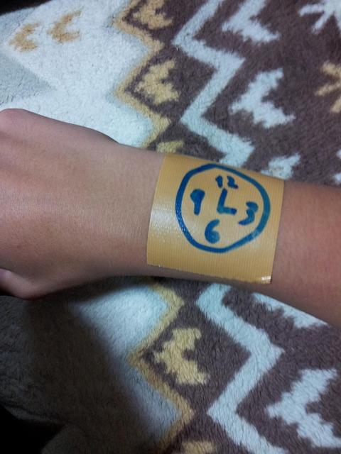 俺の腕時計かっこよすぎワロタwwwwwwwwwwwwwwwwwwwwww