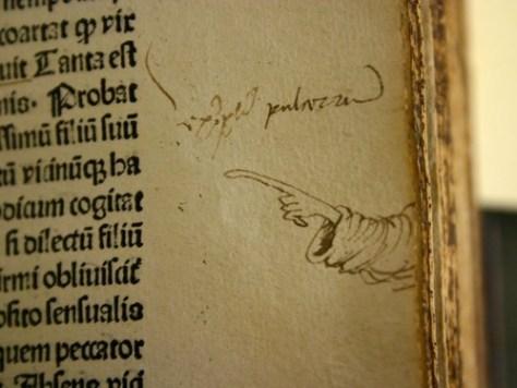 ヨーロッパ中世の書物の注記00