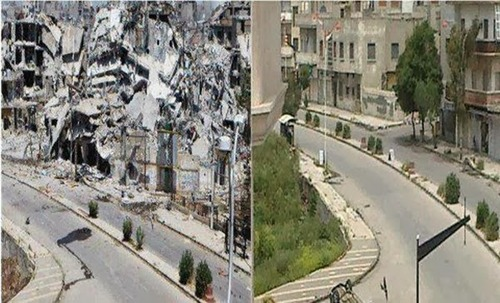 シリアのビフォー・アフター18