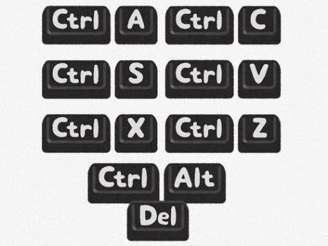 Windowsのキーボードショートカット
