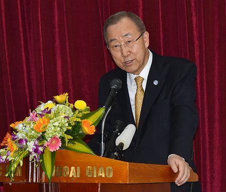 国連の潘事務総長 ロヒンギャ族はじめ難民は、まず助けて