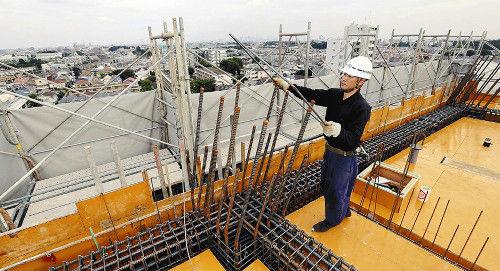 建設業で人手不足深刻…3職種の求人6・74倍
