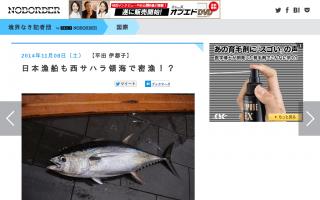 日本漁船も西サハラ領海で密漁!?「日本政府は我々の抗議書簡に返事をよこさない」