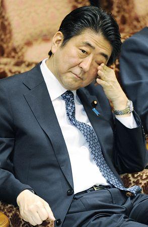 安倍首相、国会答弁で「粛々」と発言 わずか2日で踏み外す