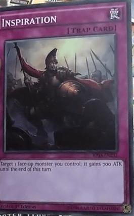 【遊戯王TCGフラゲ】「BattlePack3」に新規収録の『Inspiration』の効果と画像が判明!