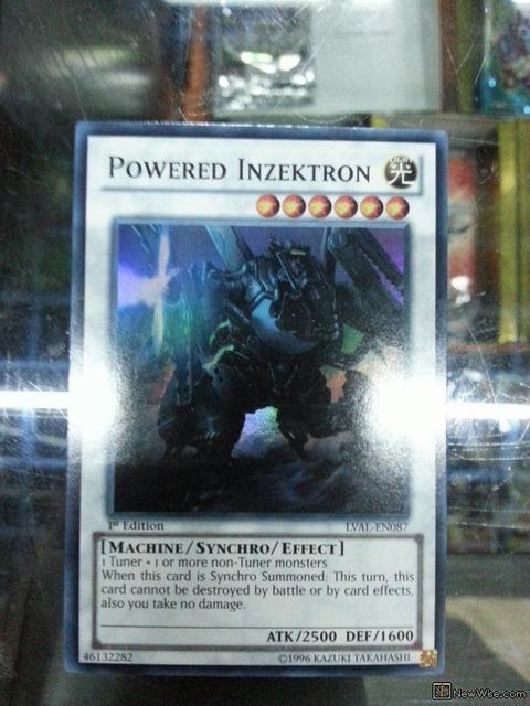 【遊戯王TCGフラゲ】海外のLVALにレベル6のシンクロ「Powered Inzektron」が収録決定!