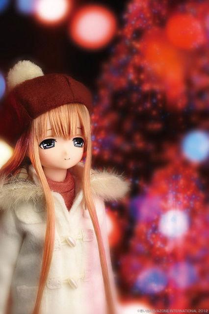 【ドール】えっくす☆きゅーと ふぁみりー みあの冬休み 完成品ドール 単品[アゾン]《12月仮予約》
