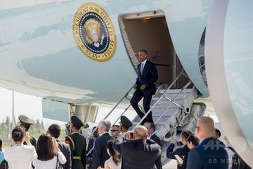 中国職員「ここは我々の国だ」 オバマ大統領到着時に怒鳴る