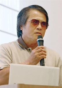「今後も拘束されるかも。権力の弾圧ははね返す」 辺野古侵入で逮捕の芥川賞作家・目取真俊が都内で講演
