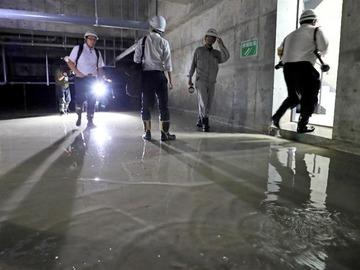 豊洲市場、地下は「モニタリング空間」…元担当者が証言