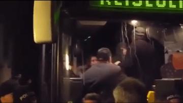 【ドイツ】怒れる群衆が難民バス襲撃