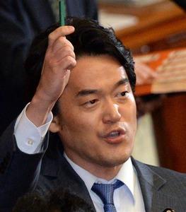 【政治】民主・小西、質問主意書を連打…6日閣議決定分の84件中55件を占める