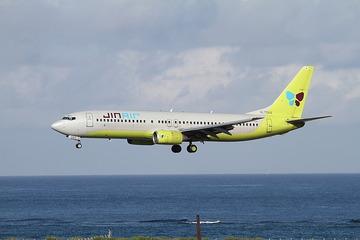 韓国機がオイル漏れで関空に緊急着陸、またも滑走路閉鎖に