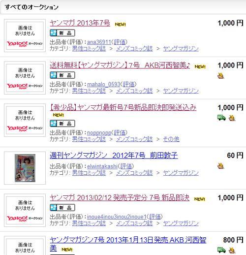 【速報】AKB 河西智美の手ブラ写真 幻のヤンマガ7号がヤフオクに大量出品wwwww