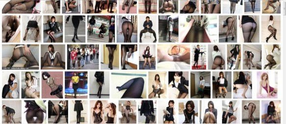 【画像】お前らwww黒ストッキングで画像検索してみろwwwwwwwwww