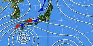 気象図が完全にアレな件wwwwwwwww