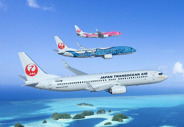 Japan Trans Ocean Air 737 NG