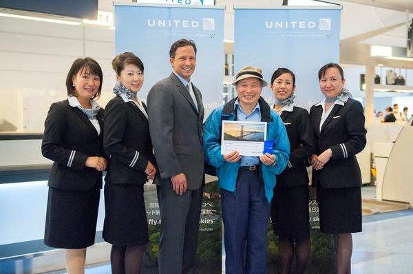 United HND-SFO Service Inauguration