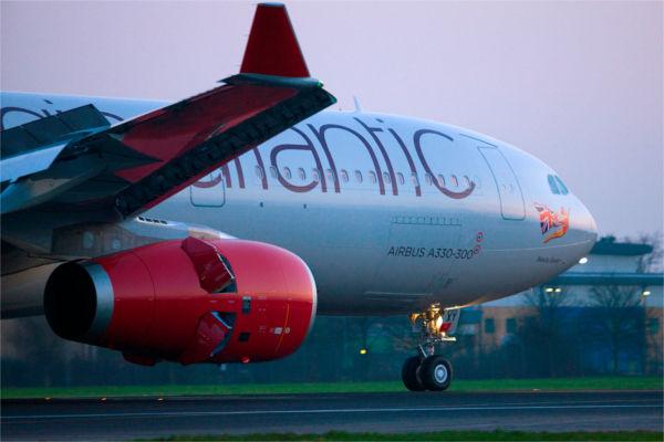 A330 Virgin Atlantic aircraft