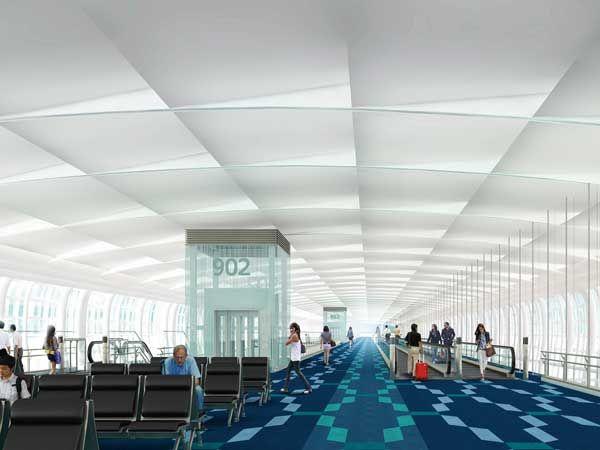 東京国際空港国際線コンコースイメージ