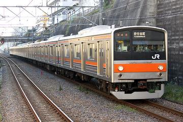 【東京】走行中の電車にイノシシが衝突して一時運転を見合わせ…JR武蔵野線