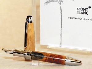 「奇跡の一本松」を高級万年筆に…113本限定でお値段は1本48万1000円(税抜き)