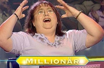 クイズ番組で100万マルクの大金を当てたドイツ女性、12年後に貧しい生活の中死去