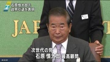 【政治】石原慎太郎「橋下徹ほど演説の上手い人はいない。若いときのヒトラーだ」