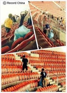 サッカーごみ拾い韓国起源説に中国人大爆笑! 「ごみまで自分たちのものかよ」「韓国はごみ拾い文化を世界遺産に申請しろ」