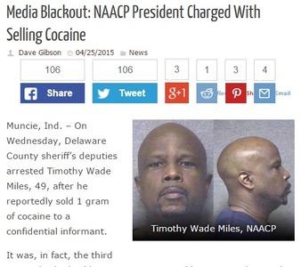 全米黒人地位向上協会の支部長が麻薬密売で逮捕され取り乱す 「見逃してくれ。このままでは人生もキャリアもめちゃくちゃだ」