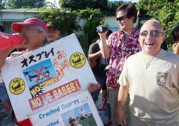 テキサス親父「沖縄の活動家の米兵家族への攻撃は犯罪レベル。警察が脅迫罪などで摘発すべき」