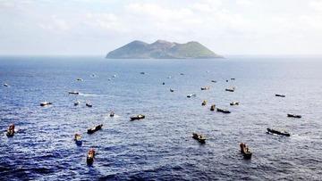 中国のサンゴ密漁船団、日本の海上警備挑発か? 専門家「単なる密漁と思えぬ」